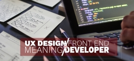 UX Design Meaning vs. Front End Developer