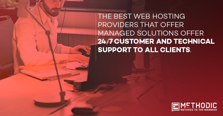 Methodic Managed Web Hosting Customer Support