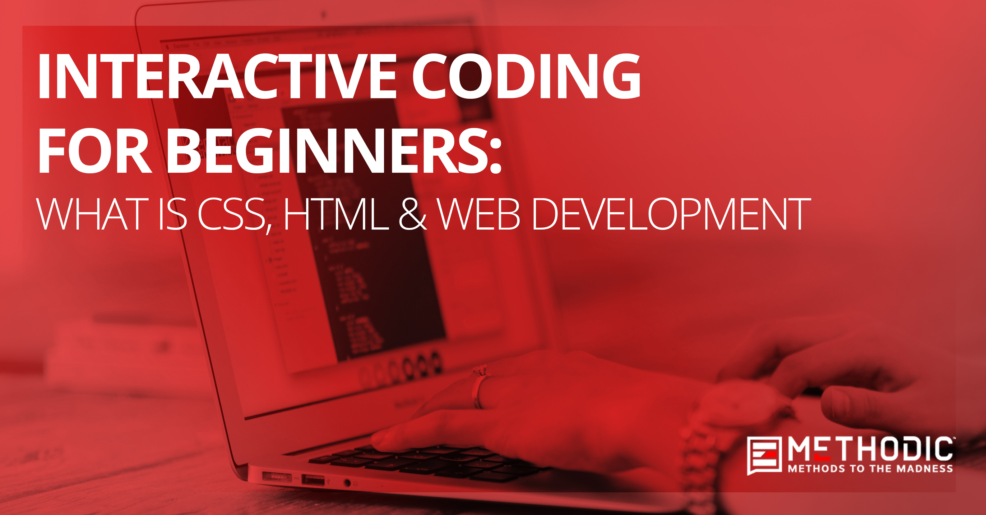 Interactive Coding for Beginners: What is CSS, HTML & Web Development